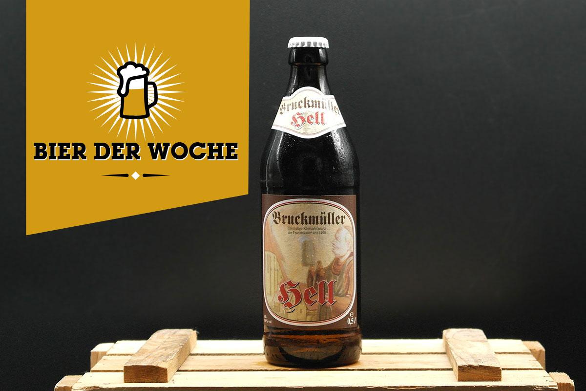 Bier der Woche: Bruckmüller Hell
