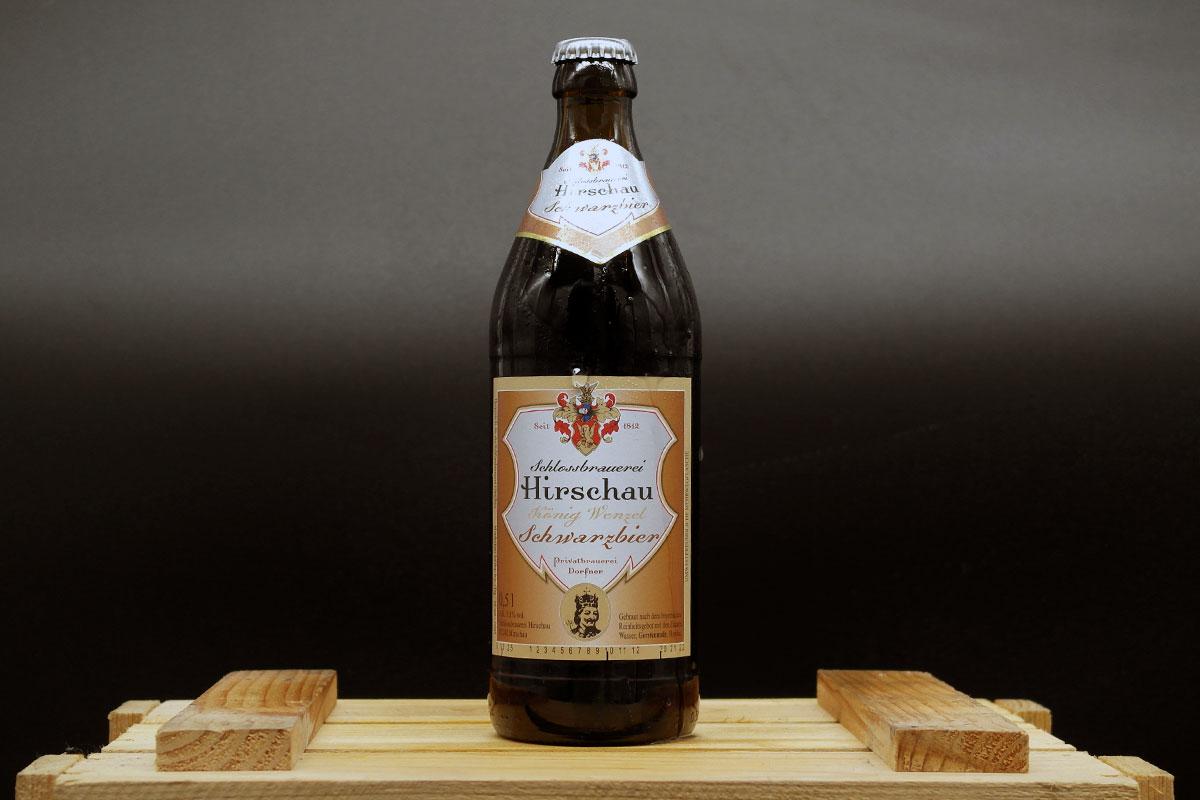 Schlossbrauerei Hirschau - König Wenzel Dunkel