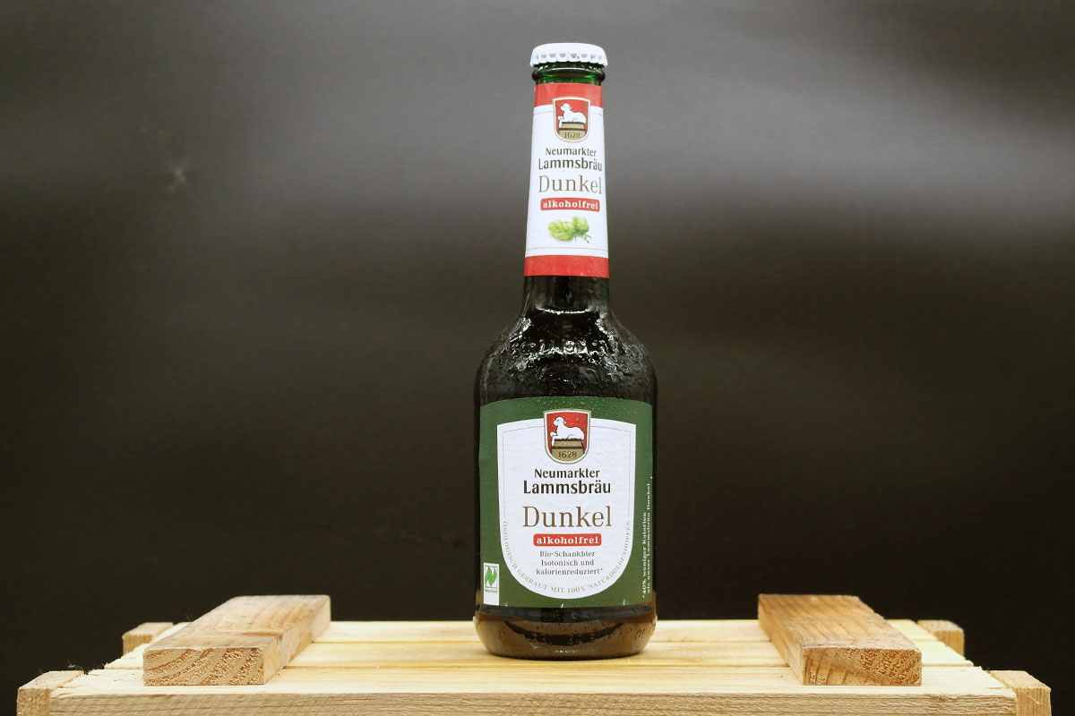 Neumarkter Lammsbräu Dunkel Alkoholfrei 0,33