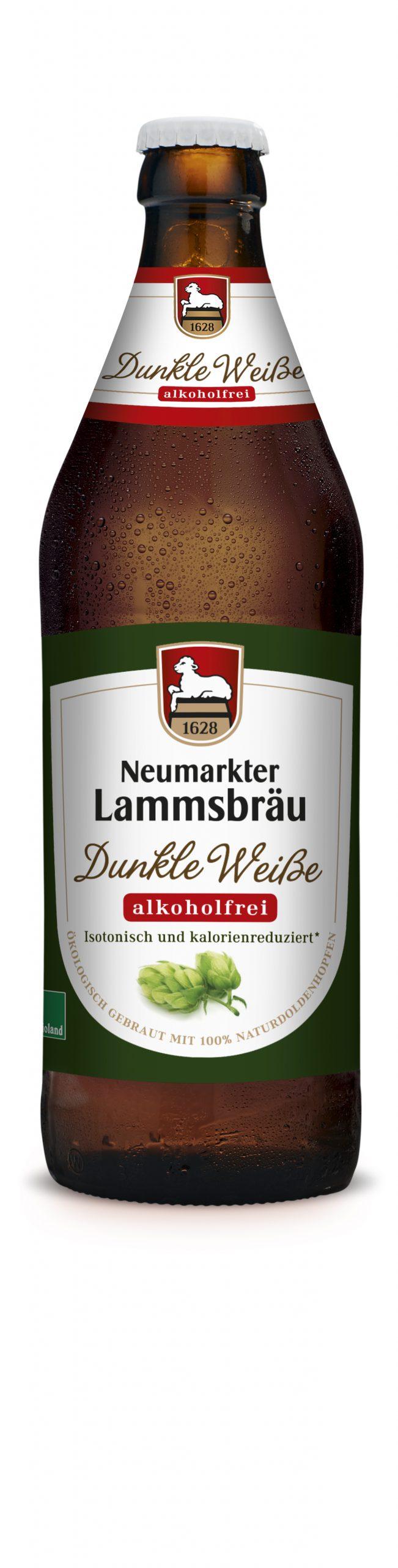 Neumarkter Lammsbräu Dunkle Weiße Alkoholfrei