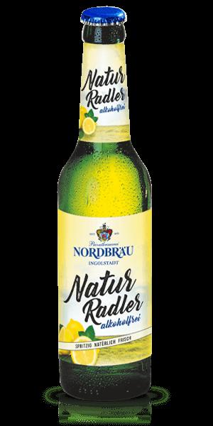 Nordbräu Naturradler alkoholfrei 0,33